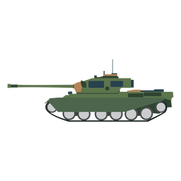 Tank fighting vehicle icon