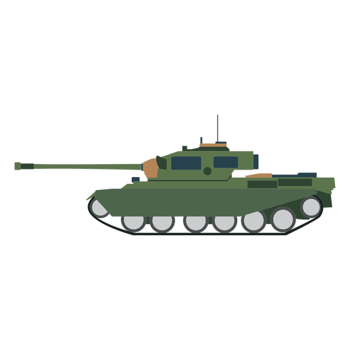 Tank fighting vehicle icon Transparent PNG