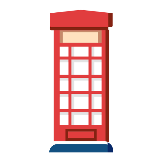 Telephone box icon Transparent PNG