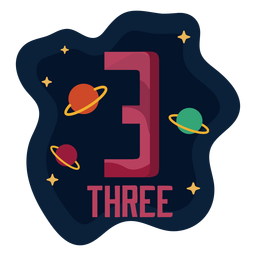 Three planets number