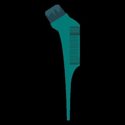 Tinting brush comb icon