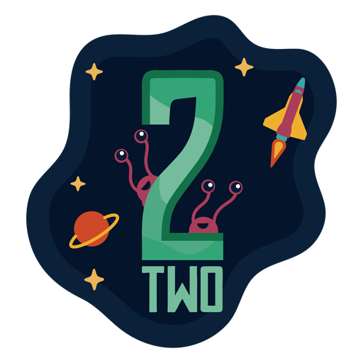 Two aliens number