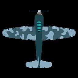Icono de avión bombardero vintage