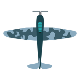 Vintage bomber aircraft icon