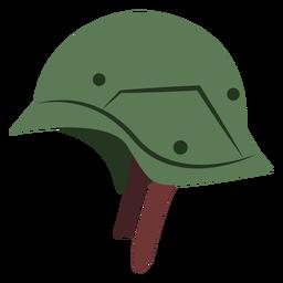 Vintage combat helmet