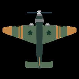Icono de avión de combate vintage