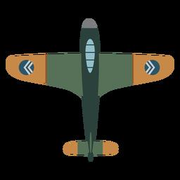 Icono de avión militar vintage