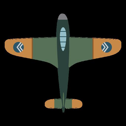 Icono de avión militar vintage Transparent PNG