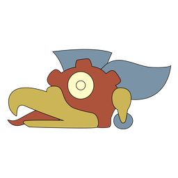 Vulture aztec sign