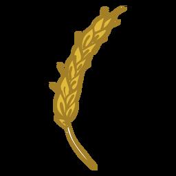 Doodle de espiga de trigo