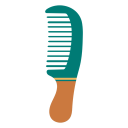 Wide tooth comb icon