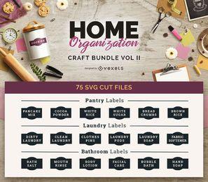 Organização Doméstica Craft Bundle Vol II