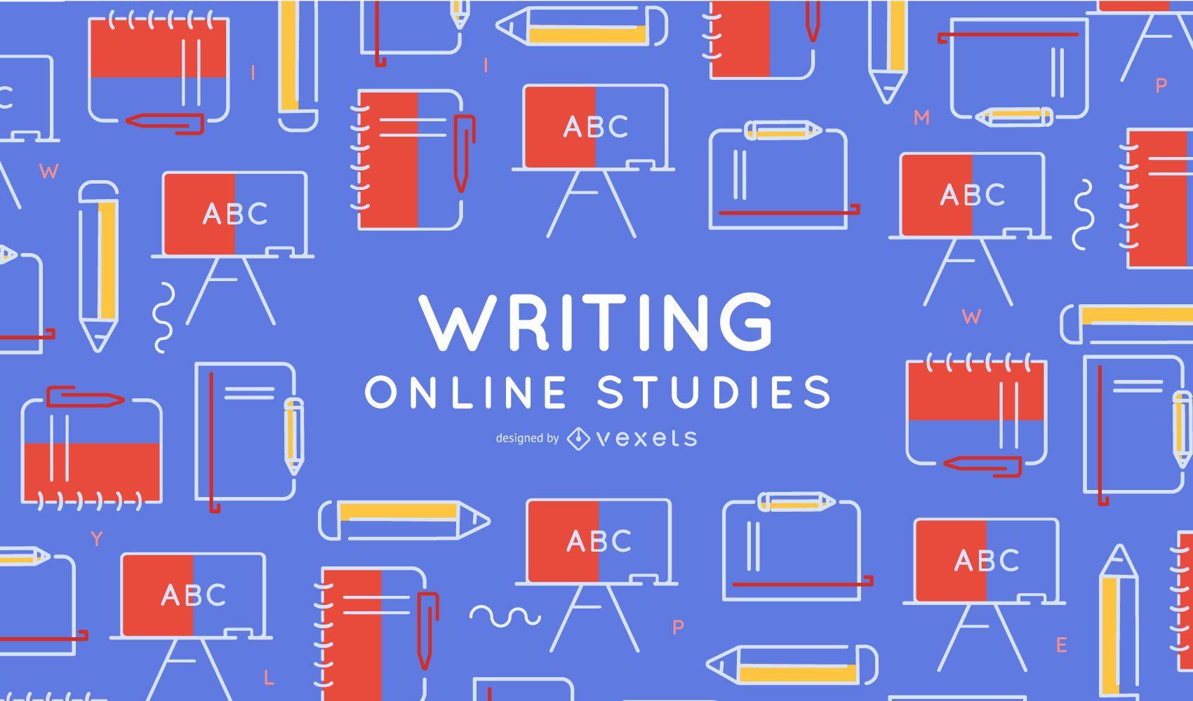 Elementos de escritura Cubierta de estudio en línea