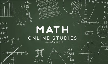 Capa de estudos online de álgebra