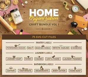 Home Organization Craft Bundle