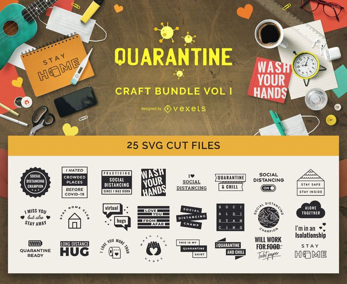 Quarantine Craft Bundle Vol I