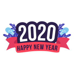 2020 newyear badge