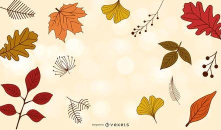 Vetor de temporada de outono