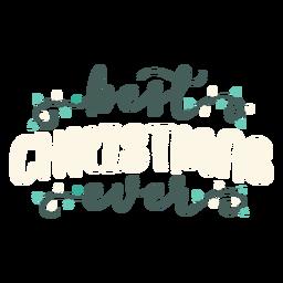 Best christmas lettering