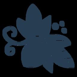 Bellota linda escandinava azul