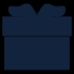 Caja de regalo azul