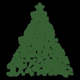 Bulldogs árbol de navidad