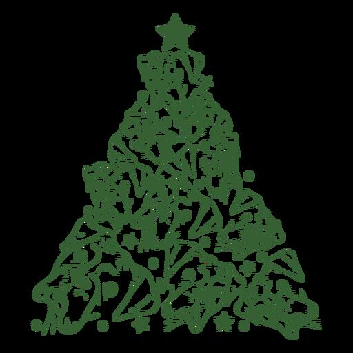 Bulldogs christmas tree