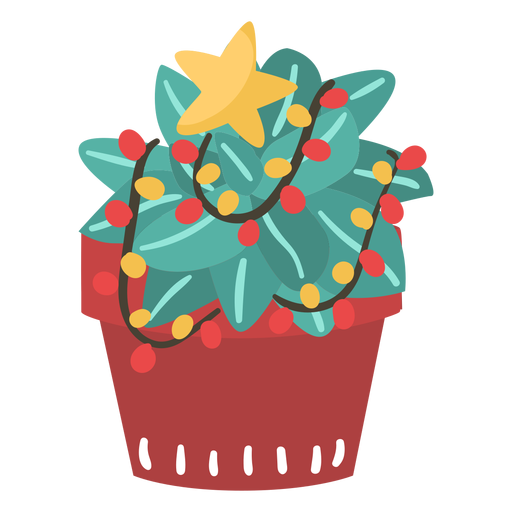 Cactus christmas awesome Transparent PNG