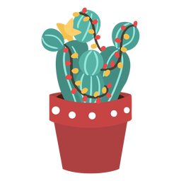 Cactus christmas simple