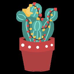 Cactus navidad simple
