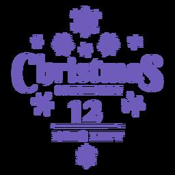 Christmas countdown 12