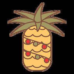 Trópicos de abacaxi de natal