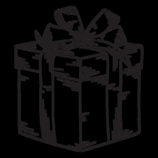 Curso de caixa de presente de Natal Transparent PNG