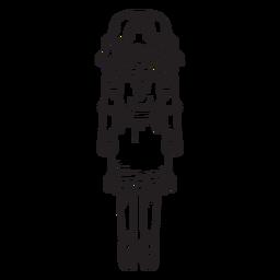 Curso de quebra-nozes de boneca Clara