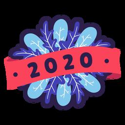 Crachá 2020 colorido