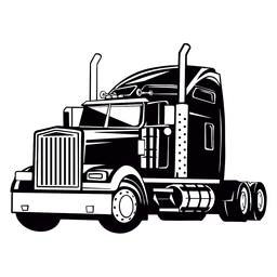 Desenho de caminhão grande legal