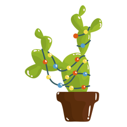 Geniales luces de cactus
