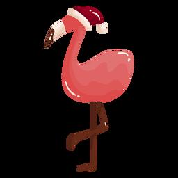 Cool flamingo trópicos de navidad