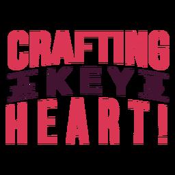 Criação de letras de coração importantes