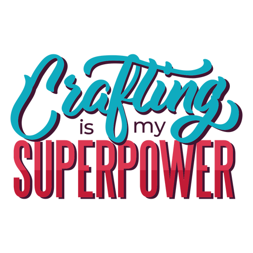 Crafting superpower lettering