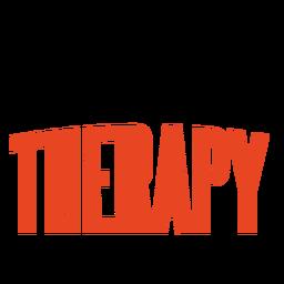 Criação de letras de terapia