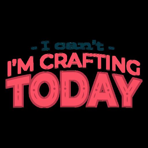 Criação de letras para hoje