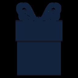 Linda caja de regalo azul