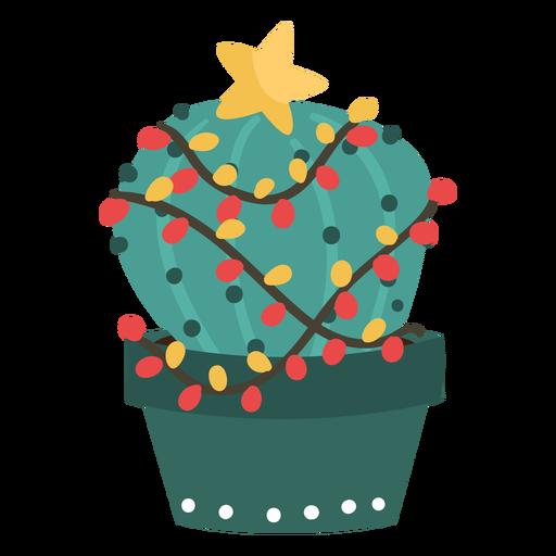 Lindo cactus de navidad