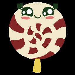 Cute christmas lollipop