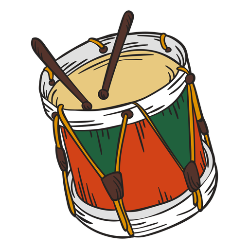 Cascanueces de ilustraci?n de tambores lindo