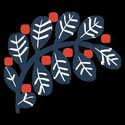 Cute scandinavian leaves