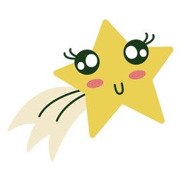 Linda estrella de navidad