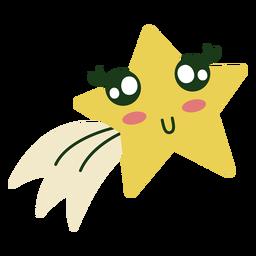 Natal bonito da estrela