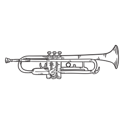 Golpe de trompeta lindo